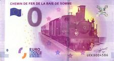 80 SAINT-VALERY-SUR-SOMME Chemin de fer de la Somme, 2017, Billet 0 € Souvenir