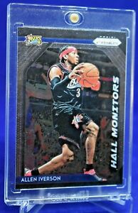 ALLEN-IVERSON-PRIZM-HALL-MONITORS-SPECIAL-INSERT-HALL-OF-FAME-76ERS