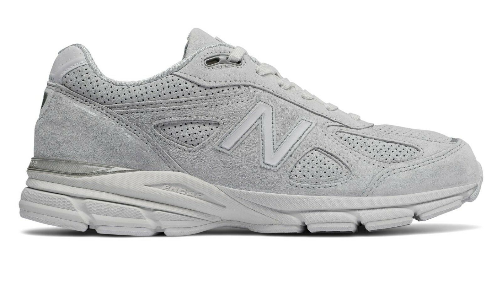NIB New Balance MENS M990AF4 MADE 990 ARTIC FOX GREY MADE M990AF4 IN USA RUNNING SNEAKERS e9b86a