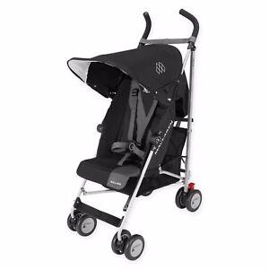8ce1a73f2256 Maclaren Triumph Black charcoal Umbrella Single Seat Stroller ...