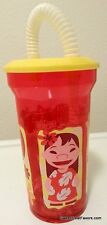 Lilo & Stitch Party Birthday Cup Tumbler Plastic Water Gift Straw Favors Treats