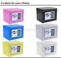 Digital Electronic Safe Box Keypad Lock Home Steel Fireproof Safes Box