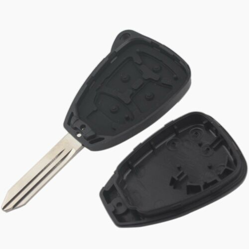 10 PCS Keyless Remote Key Shell 4 Button For Chrysler