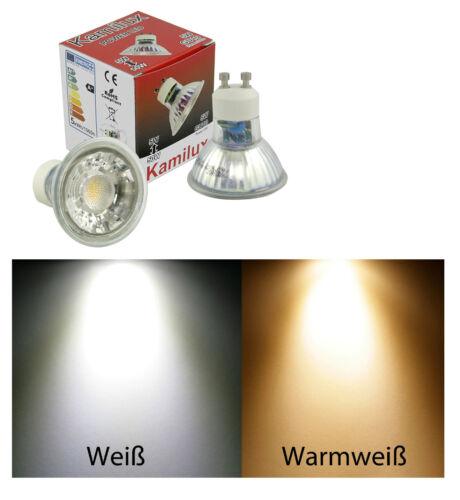 3er Set 7Watt 230V LED Decken Einbaustrahler Bajo Innen Aussen Feuchtraum /& Bad