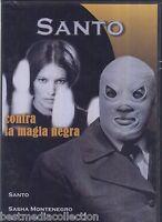 Sealed - Santo Contra La Magia Negra Dvd Santo Y Sasha Montenegro