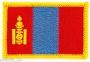 PATCH ECUSSON BRODE DRAPEAU MONGOLIE INSIGNE THERMOCOLLANT NEUF FLAG PATCHE V5IucgJf-09094033-236260093