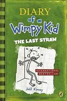The Last Straw (Diary of a Wimpy Kid) Jeff Kinney Very Good Book
