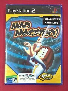 Mad-Maestro-PLAYSTATION-2-PS2-NUEVO