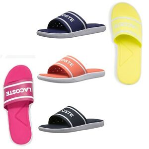 a06553fa5306 Lacoste Women Slides L.30 118 Pool Beach Summer Slip On Comfort ...