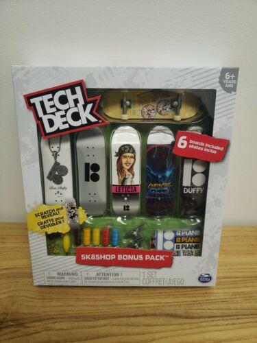Tech Deck SK 8 Shop Bonus Pack 6 Planches Plan B