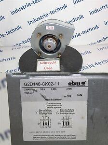 EBM-G2D146-CK02-11-Ventilateur-Cable-Coupe