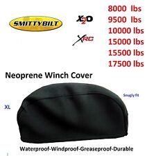 Smittybilt Winch Neoprene Cover 8000 9500 10000 12000 15000 17500lbs Snugly Fit
