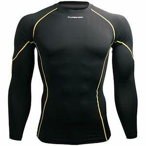 [px-kyl] Btoperform Compression Tops Skin Tight Base Couches Rash Guard Mma Gym-afficher Le Titre D'origine