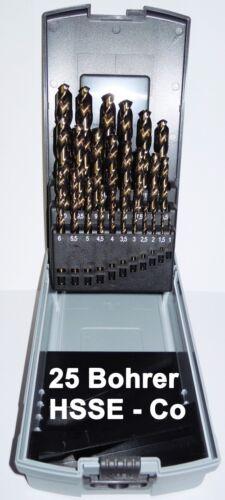 Cobalto 1-13 MM Punta Trapano Acciaio Inox HSSE Co5 din 338 IN Metallo
