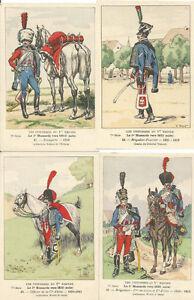 Cdt-BUCQUOY-UNIFORMES-1er-EMPIRE-Serie-77-le-1-HUSSARDS-vers-1810-suite