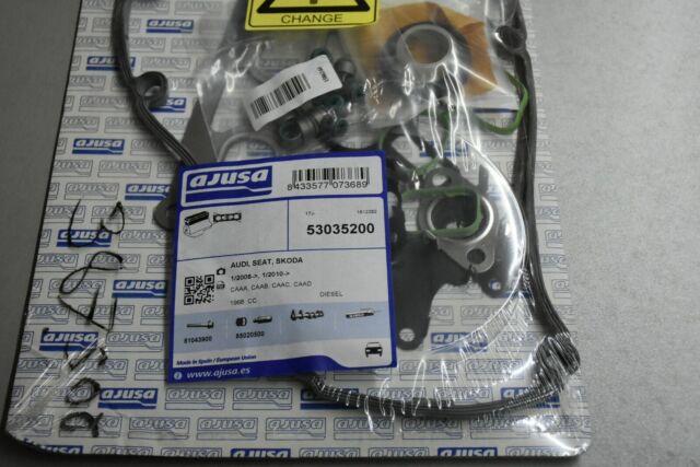 Jeu joints étanchéité, culasse de cylindre, 53035200 Ajusa Audi | VW | Seat | Skoda