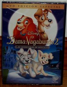 LA DAMA Y EL VAGABUNDO 2 DISNEY DVD NUEVO PRECINTADO ED.ESPECIAL (SIN ABRIR) R2