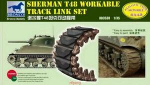Bronco-3538-1-35-Sherman-T48-Track-Link-Hot