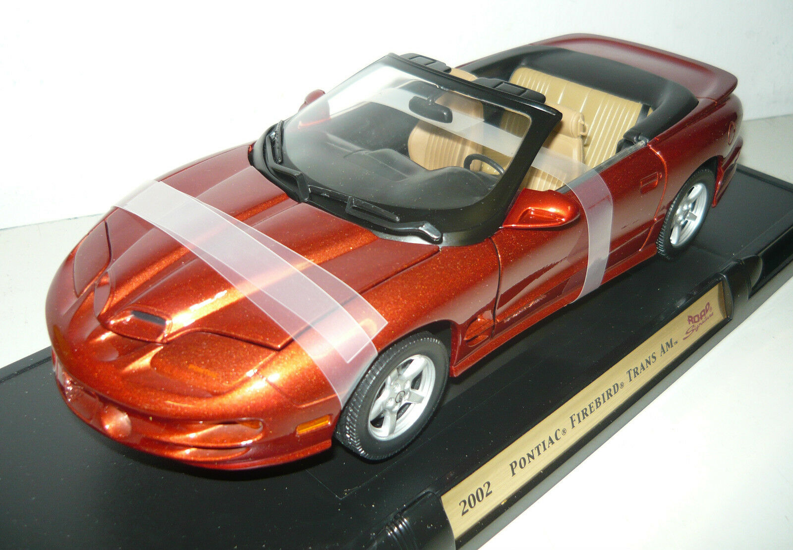 Yat ming 92389 2002 Pontiac Firebird Trans Am, Cobre metalizado, 1 18, neu&ovp
