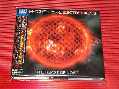 2016 JEAN MICHEL JARRE Electronica 2 Heart of Noise DIGIPAK JAPAN BLU-SPEC CD