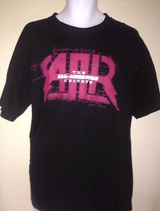 ALL-AMERICAN-REJECTS-I-WANNA-ROCK-2009-TOUR-LARGE-T-SHIRT-ROCK-OUT-OF-PRINT