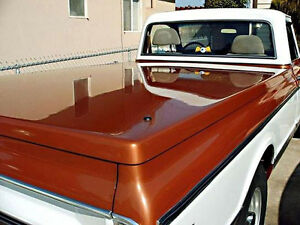 Details about 67-72 Chevy GMC C/K Classic Truck Fiberglass Hard Shell Bed  Tonneau Cover