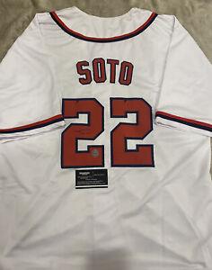 Juan Soto Autographed Jersey - Authenticated