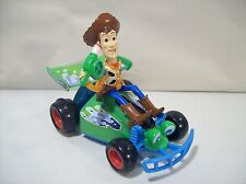 DISNEY TOY STORY RC RACER & WOODY PLASTIC TALKING PULL BACK ACTION CAR