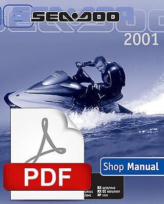 2003 SEADOO GTI LE RFI GTX XP DI RX LRV 4-TEC JET SKI SERVICE REPAIR SHOP MANUAL