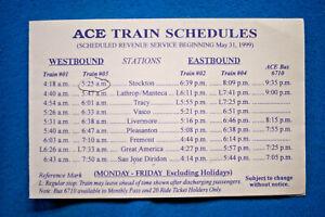 Altamont-Commuter-Express-ACE-Timetable-5-31-99
