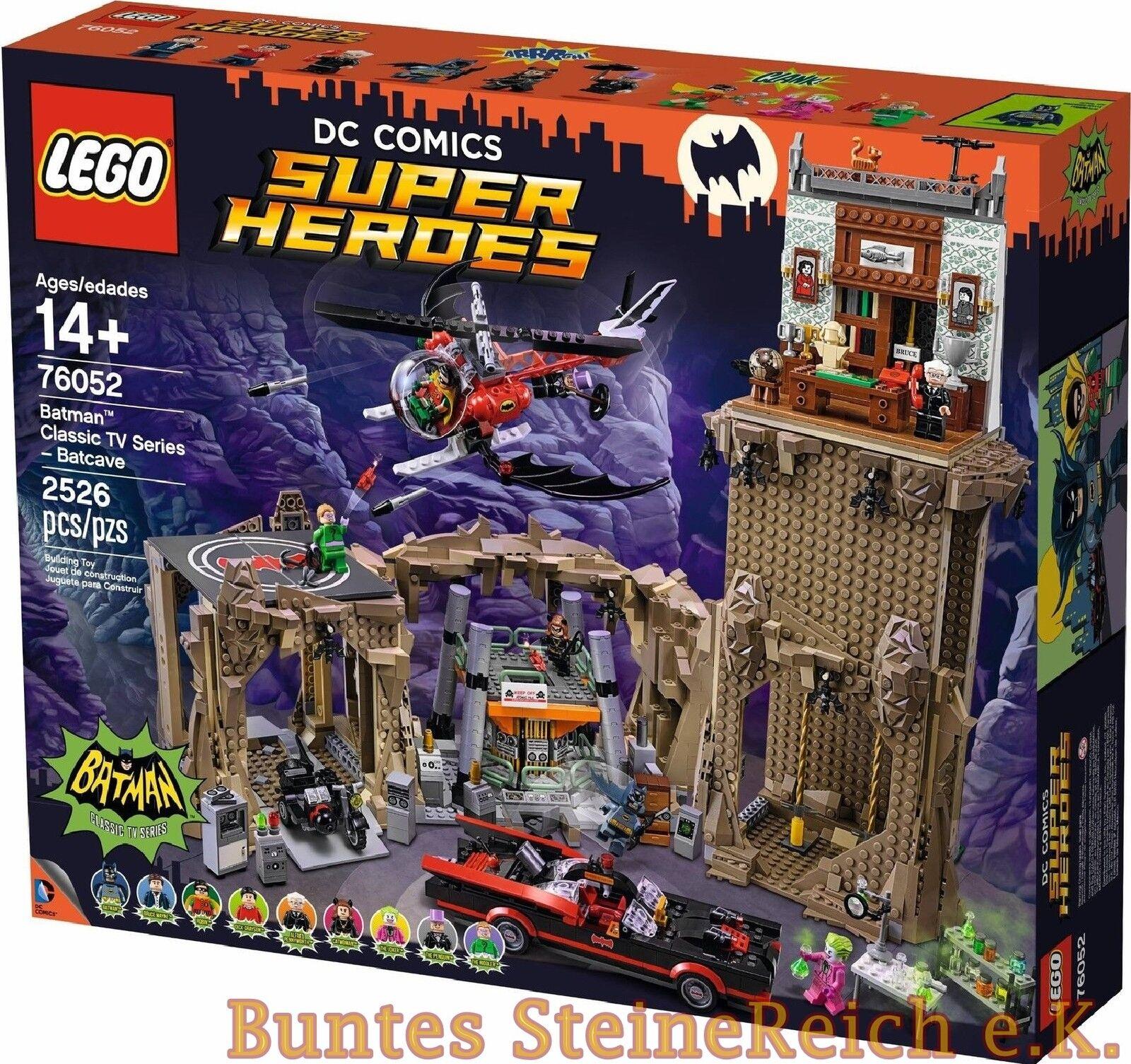 LEGO ® Super Heroes: 76052 Batman ™  TV-classico  bathöhle 0.€ spedizione