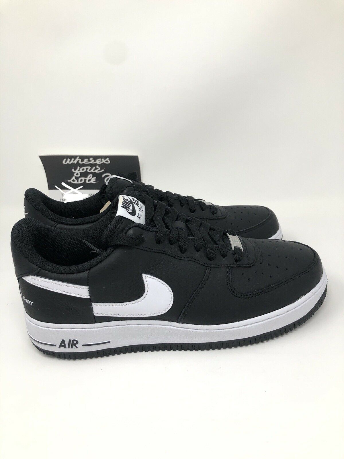 f4de3c90dc886 Nike Supreme CDG Comme Des Garcons Air Force 1 Low Black size 9 New AR7623-