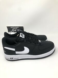 promo code b166b 9b74e Details about Nike Supreme CDG Comme Des Garcons Air Force 1 Low Black size  9 New AR7623-001