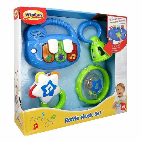 Rattle Music Set Beat Bop
