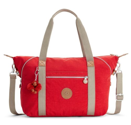 Combo Tote Kipling Red Art True TIcTO0qp