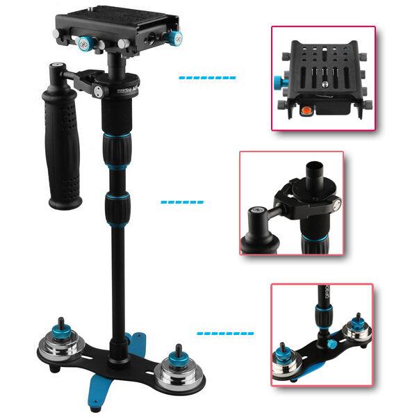 US FOTGA S-750 HandHeld Steadycam Stabilizer Quick Release for DSLR Camera Video