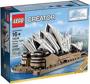 Lego Creator Expert - 10234 L'opéra De Sydney Neuf Boite Scellée