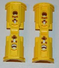 Lego Technic Technik 2 x Pneumatik Zylinderklammern, gelb #53178