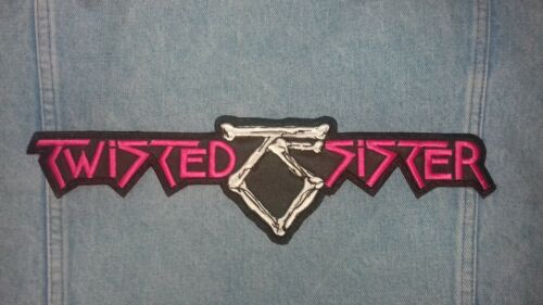 Twisted Sister WASP Lizzy Borden embroidered logo back patch heavy metal
