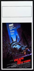 Plakat-1997-Flucht-Von-New-York-John-Carpenter-Kurt-Russell-Barbeau-Kino-L111