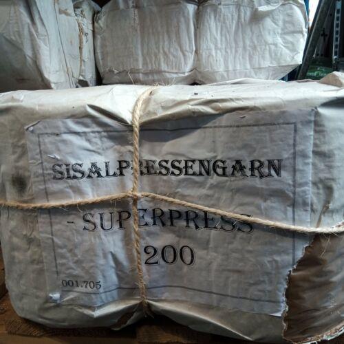Sisal Pressengarn Typ 200 Erntegarn Bindegarn 2 x 9 kg Paketschnur 4,22€//kg