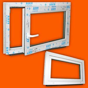 Lagerware-Fenster-600x500mm-60x50cm-Weiss-3fach-Verglasung-DIN-Rechts