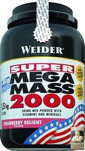 Weider Mega mass 2000 lata con 1500 G (17,70 eur/1000 G)  </span>