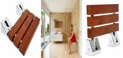 Awe Inspiring Kenley Folding Shower Seat Wooden Wall Mounted Bench Bathroom Stool Teak Ebay Onthecornerstone Fun Painted Chair Ideas Images Onthecornerstoneorg
