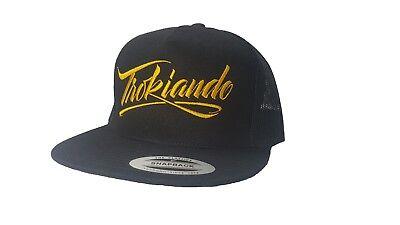 Yupoong Trokiando Snapback Hat Custom Hat for Men and Women Trucker Cap