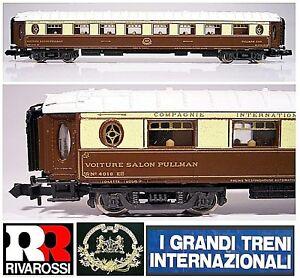 Rivarossi-9555-Vintage-Railway-Carriage-Pullman-Ciwl-Nr-4018-Orient-Express-Box
