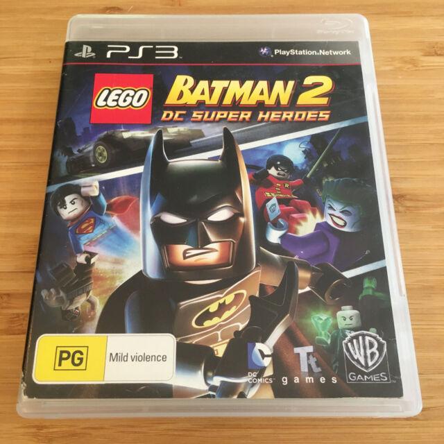 LEGO Batman 2: DC Super Heroes | PlayStation 3 PS3 Game | Aus Seller | Free Post