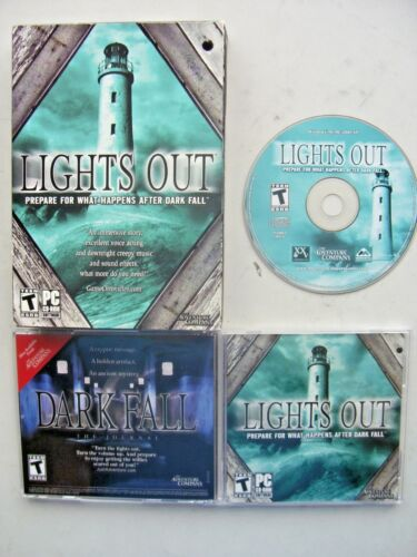 1 of 1 - Dark Fall: Lights Out (PC: Windows, 2009) - Boxed Edition