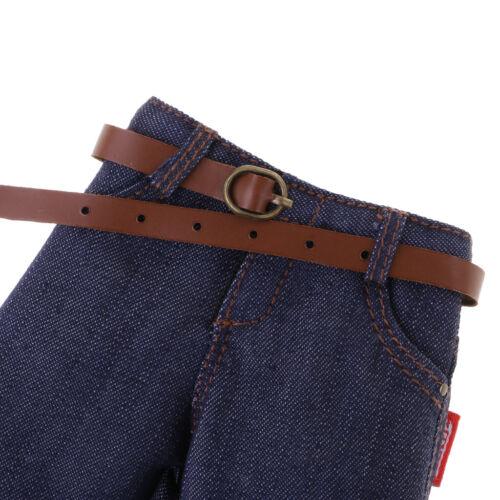 """Lot de 3pcs 1//6 Action Figures Vêtements Jeans Pantalons Pour 12/"""" Hot Toys mâle"""