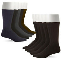 10 Pairs: John Weitz Men's Platinum Collection Dress Socks